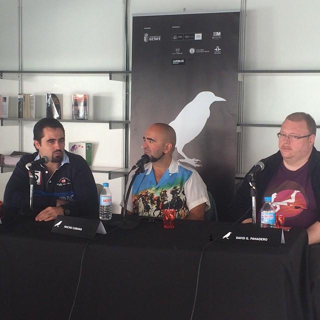 Charla presentacion con Nacho Cabana y David G Panadero