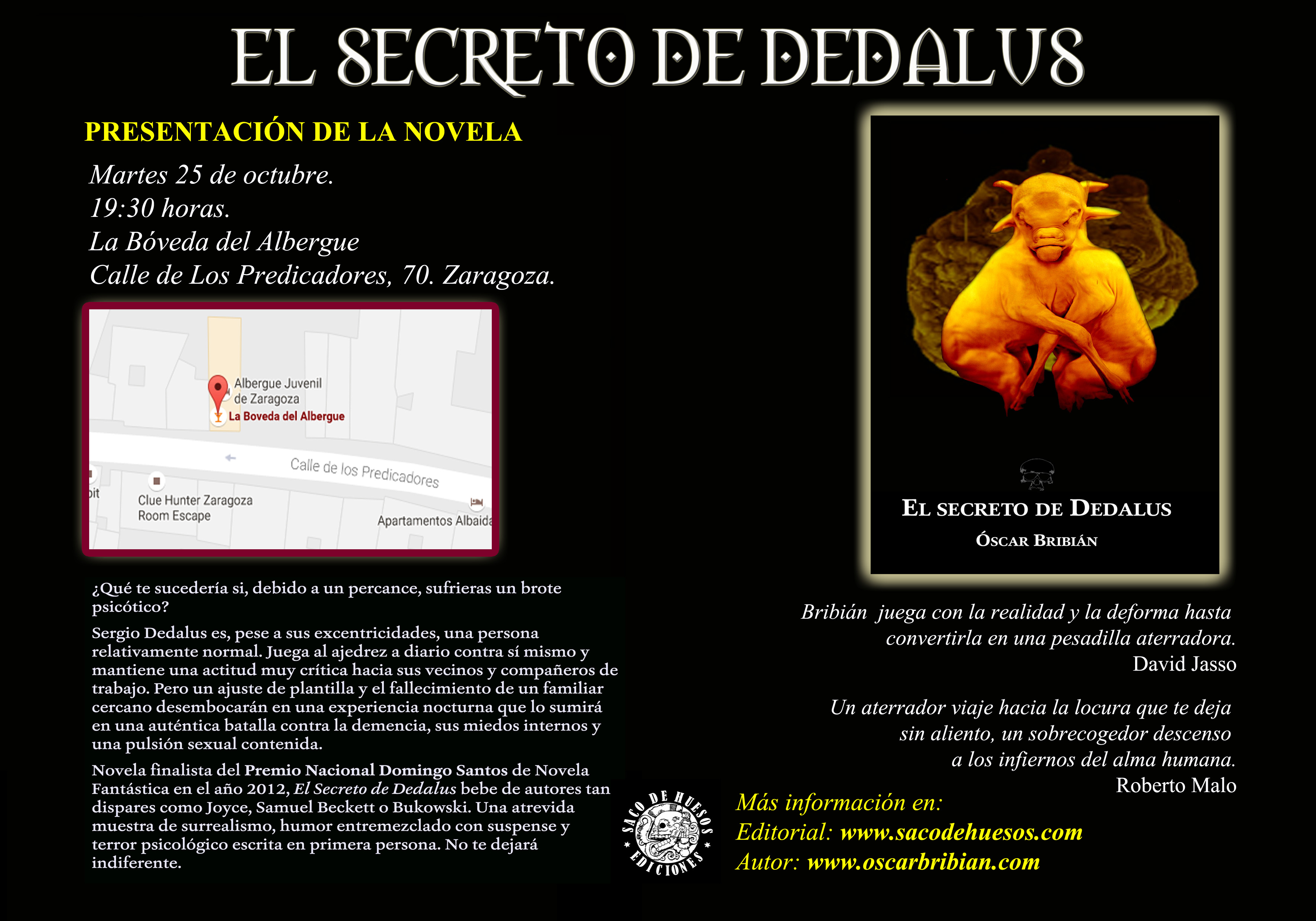 elsecretodededalus_presentacion