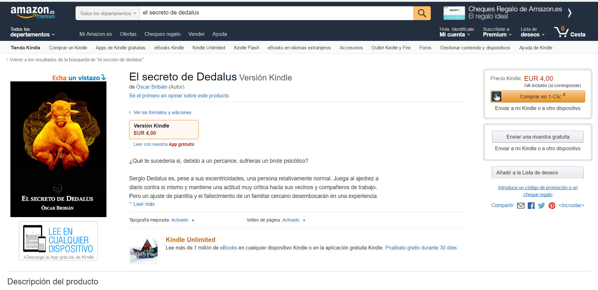 elsecretodededalus_amazon